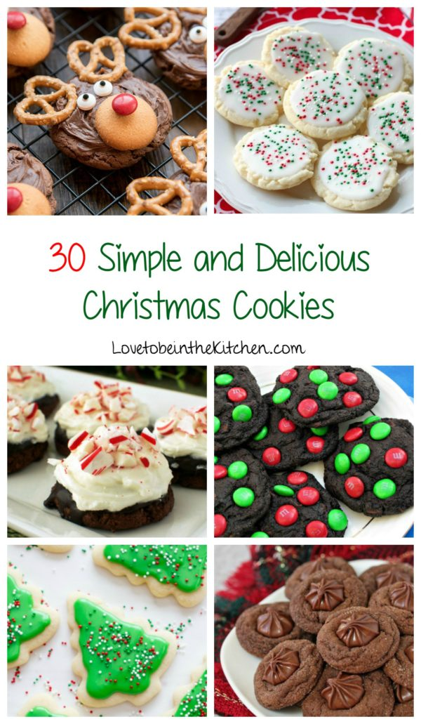 30 Simple and Delicious Christmas Cookies