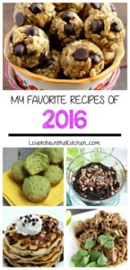 My Favorite Recipes of 2016