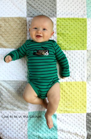 4 month baby boy