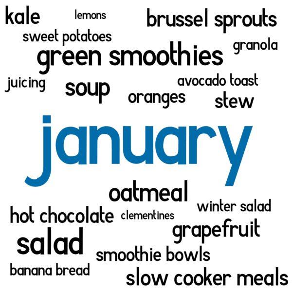 january eats