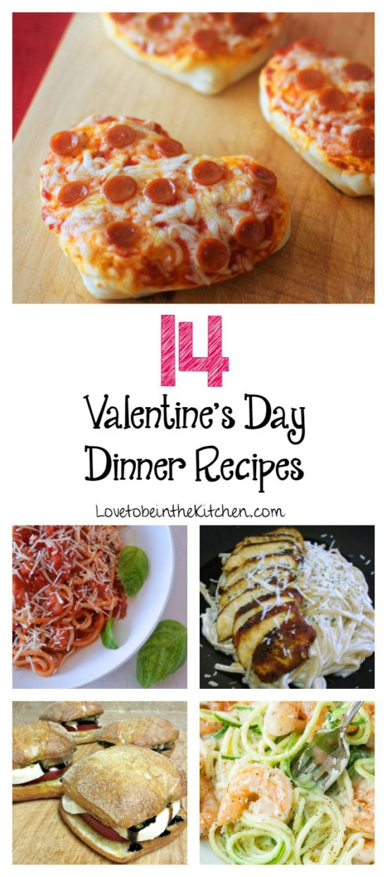 14 valentine 39 s day dinner recipes love to be in the kitchen for Valentine dinner recipes kids
