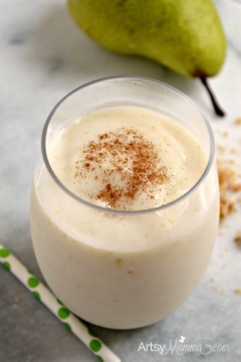 Pear Smoothie from Artsy Momma