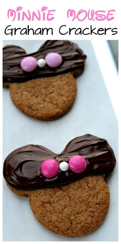 Minnie Mouse Graham Crackers