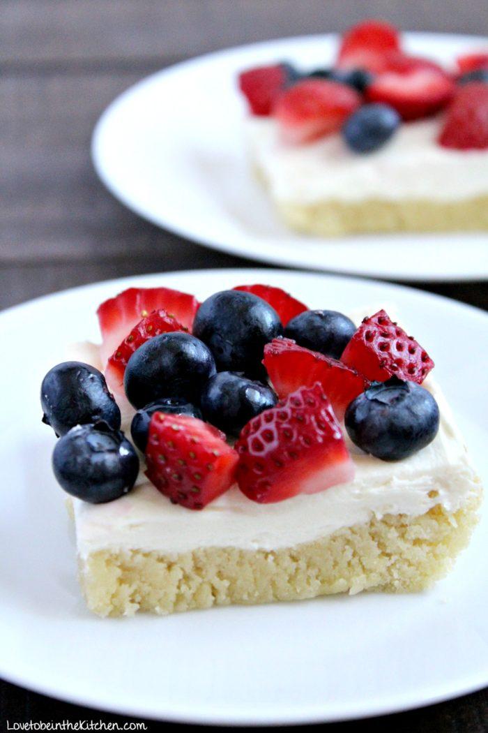 Berries and Cream Bars