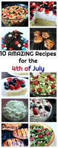 Recipes for the 4th of July + Becky's Bites of Life- June