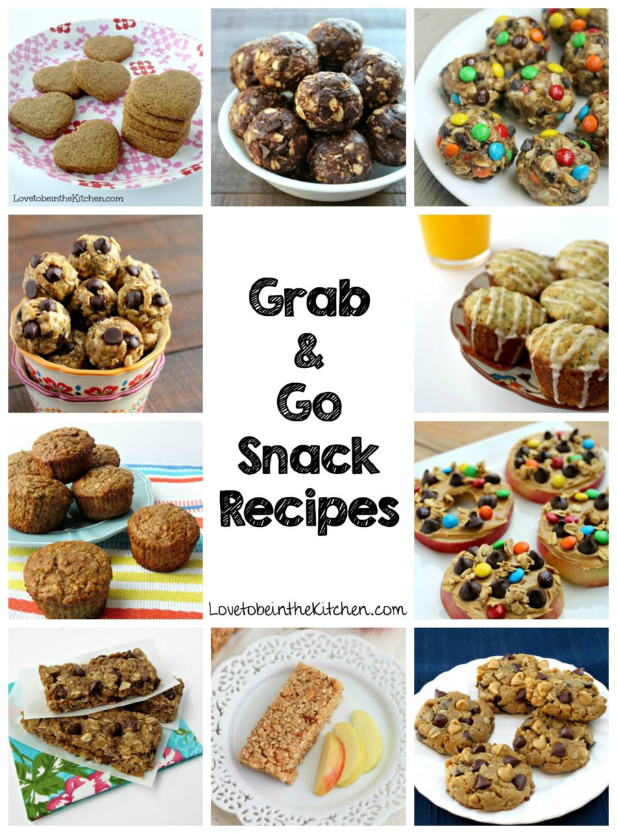 Grab and Go Snack Recipes