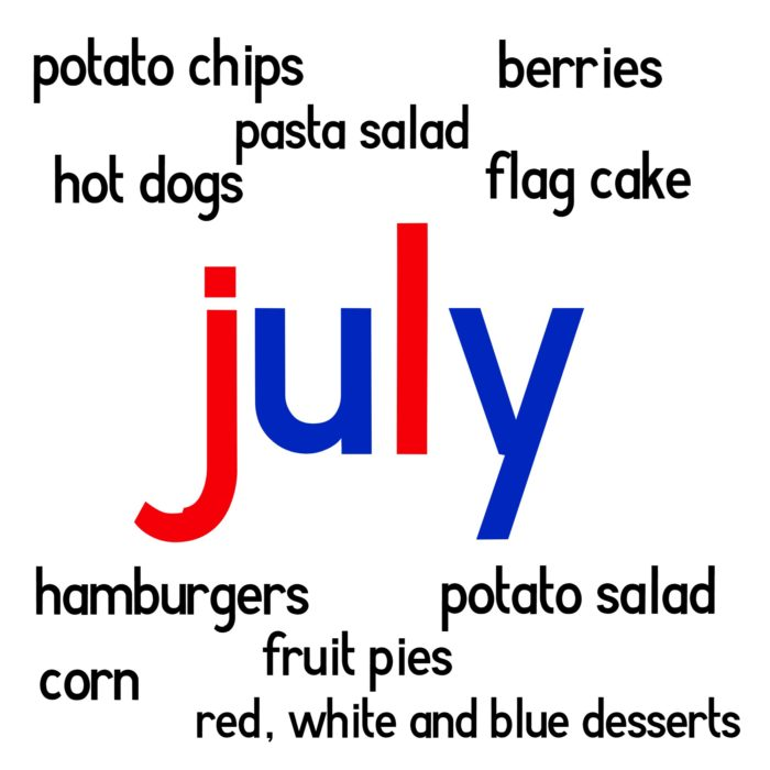 July foods
