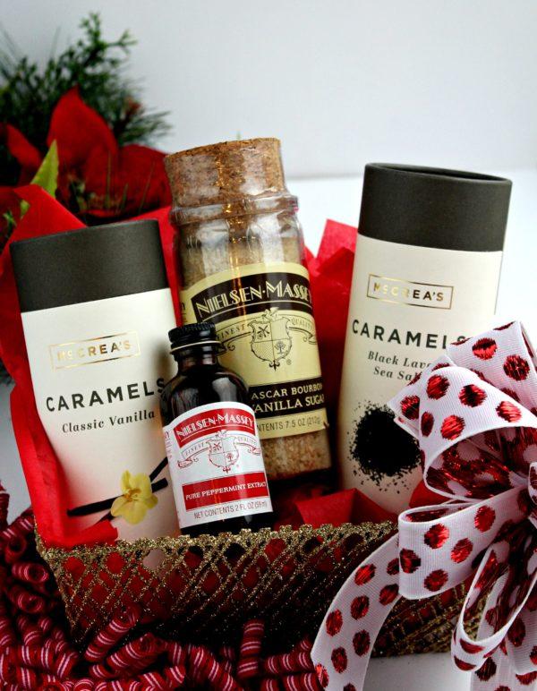 Nielsen-Massey Vanillas and McCrea's Candies Gift Basket