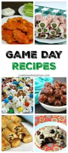 Game Day Recipes