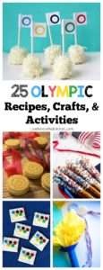 25 Olympic Recipes, Crafts & Activities