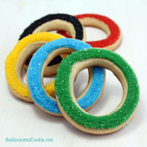 Olympic Rings Cookies
