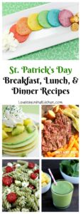 St. Patrick's Day Breakfast, Lunch, and Dinner Recipes
