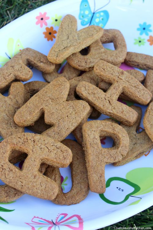 Alphabet Graham Crackers