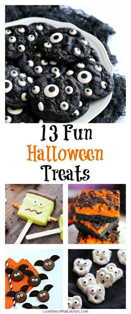 13 Fun Halloween Treats