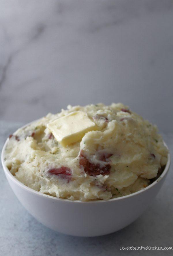 Red Potato Mashed Potatoes