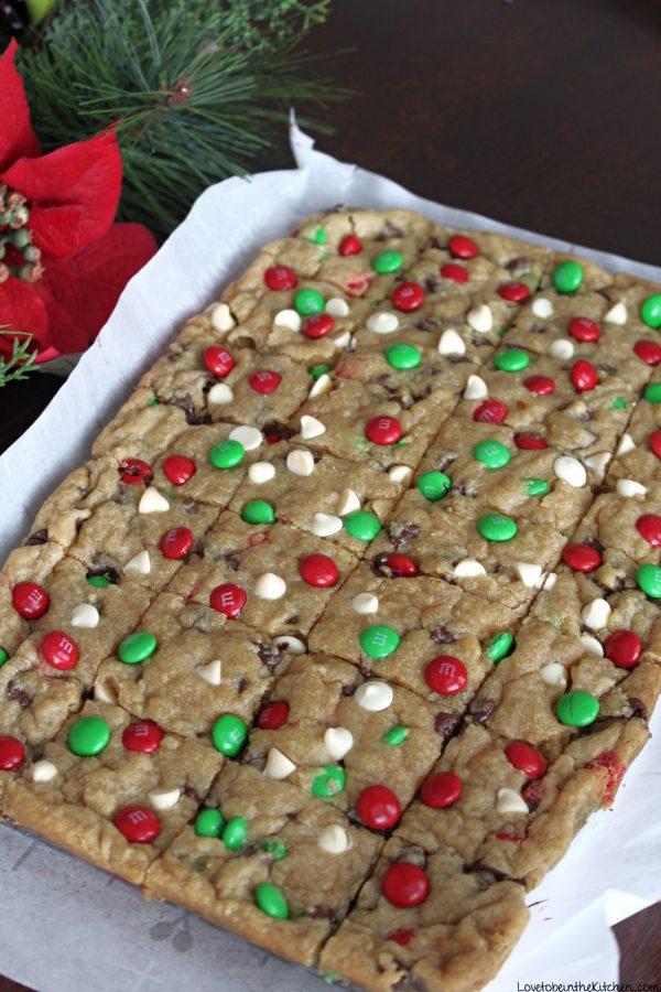 Christmas Cookie Bars
