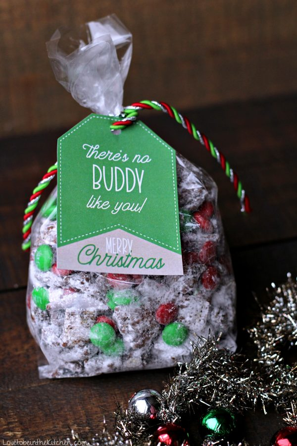 Muddy Buddy Gift Tags