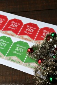 Christmas Muddy Buddy Gift Tags (Free Printable!)