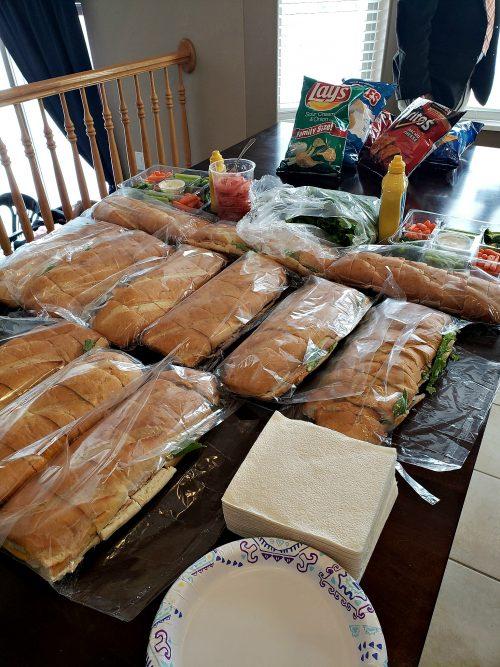 Walmart Sub Sandwiches