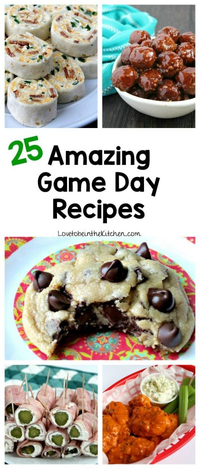 25 Amazing Game Day Recipes