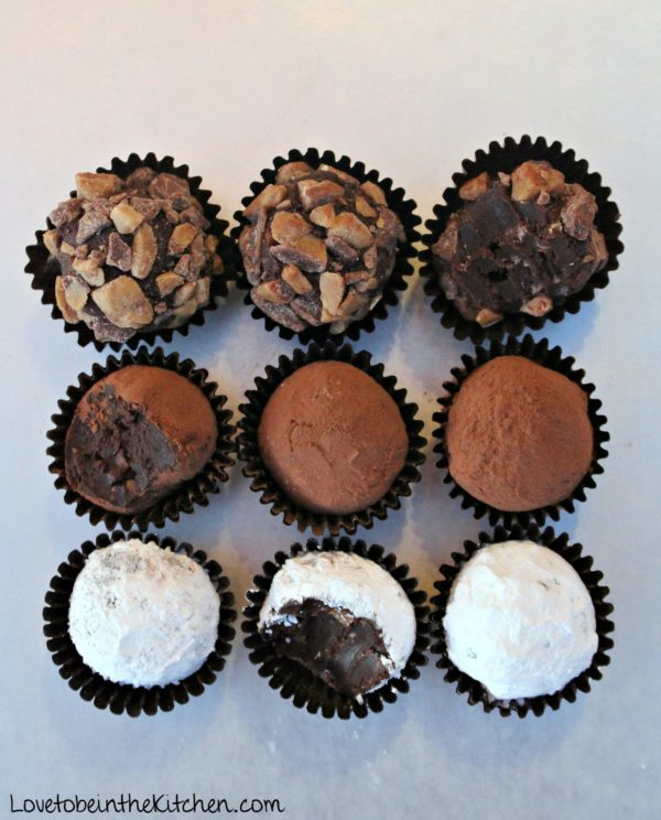 Chocolate Toffee Truffles