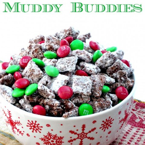Christmas Muddy Buddies Love To Be In The Kitchen