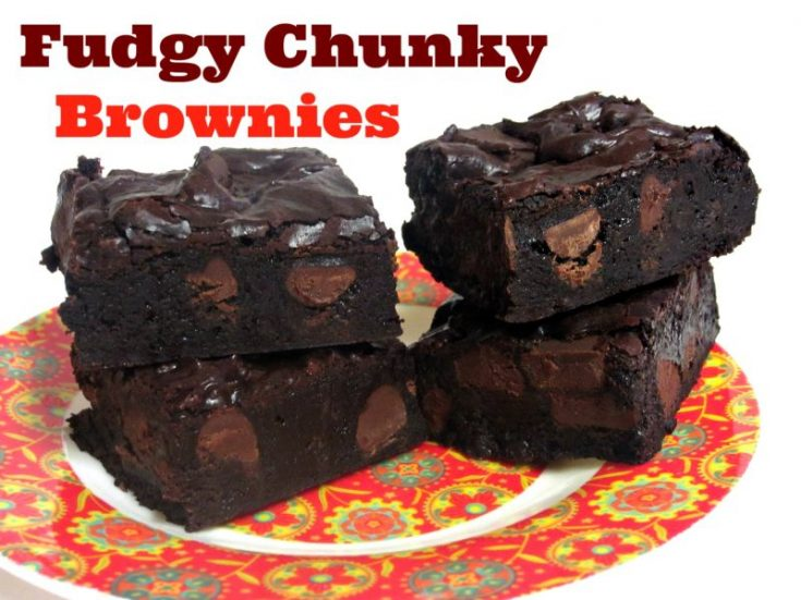 Fudgy Chunky Brownies