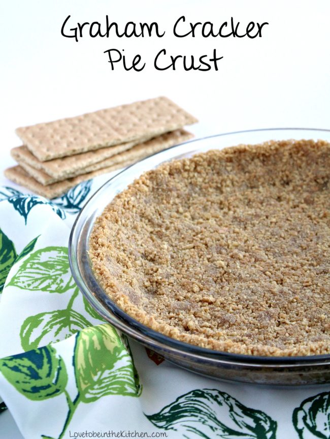 Graham Cracker Pie Crust Recipe