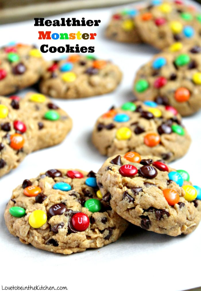 Healthy Monster Cookies