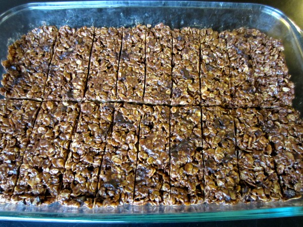 Dark Chocolate Granola Bars