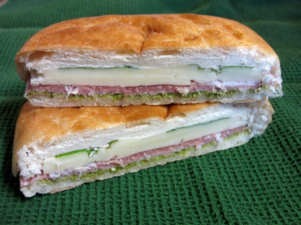 Italian Pressed Picnic Sandwiches