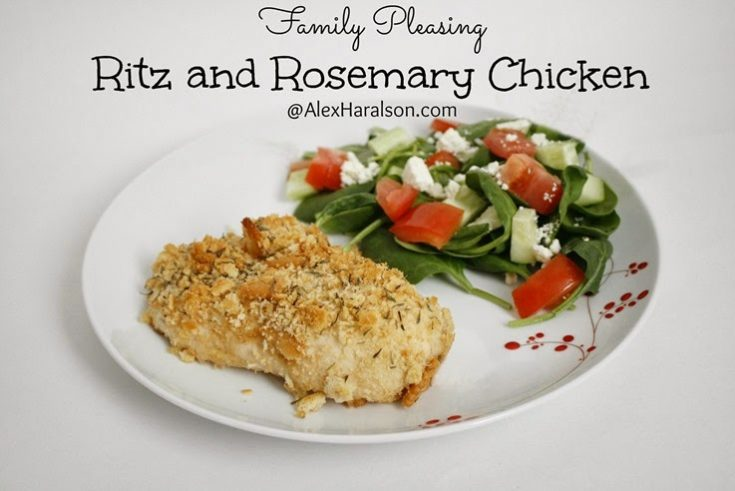 Ritz and Rosemary Chicken