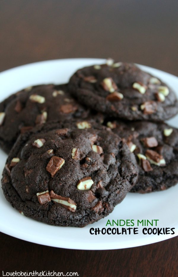 Andes Mint Chocolate Cookies Love To Be In The Kitchen