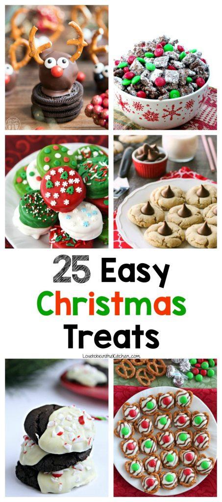 25 Easy Christmas Treats