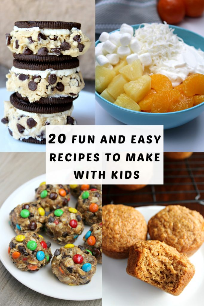 20 Fun and Easy Recipes to Make with Kids