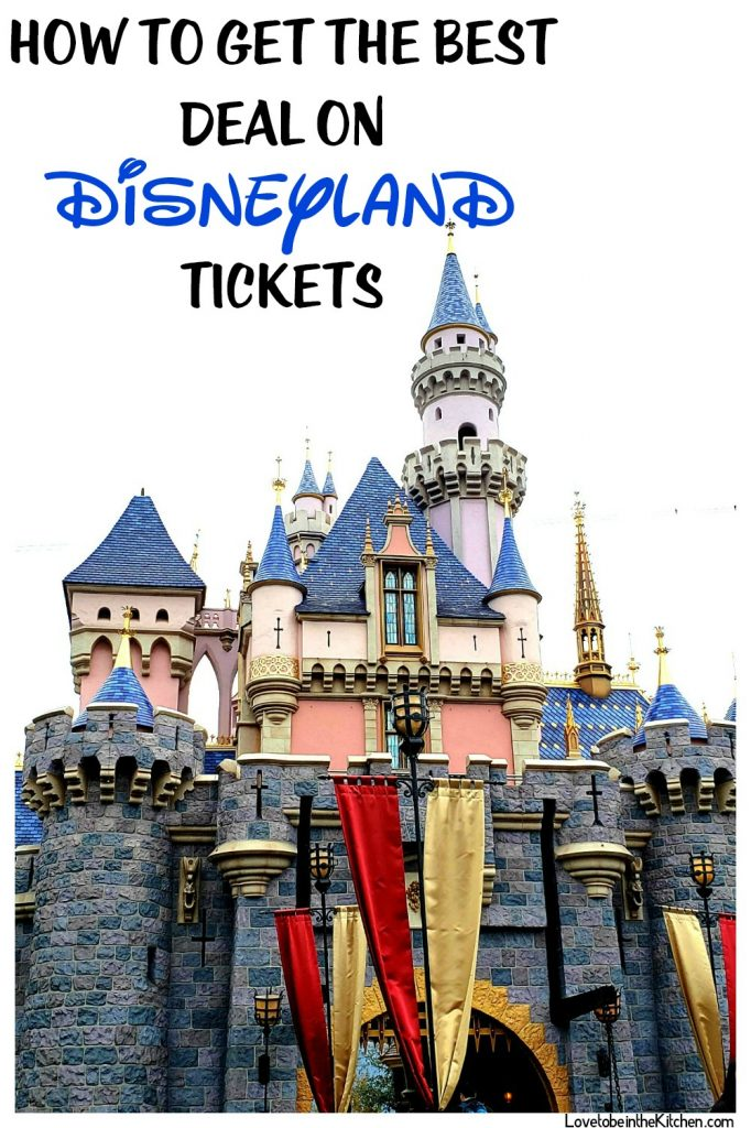 How to get The Best Deal on Disneyland Tickets