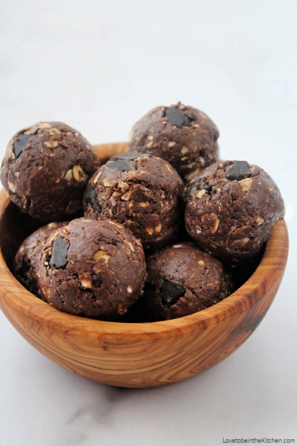 Chocolate Protein Energy Bites Love To Be In The Kitchen