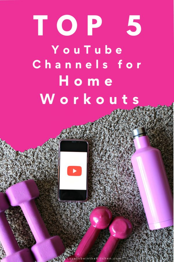 op 5 YouTube Channels for Home Workouts