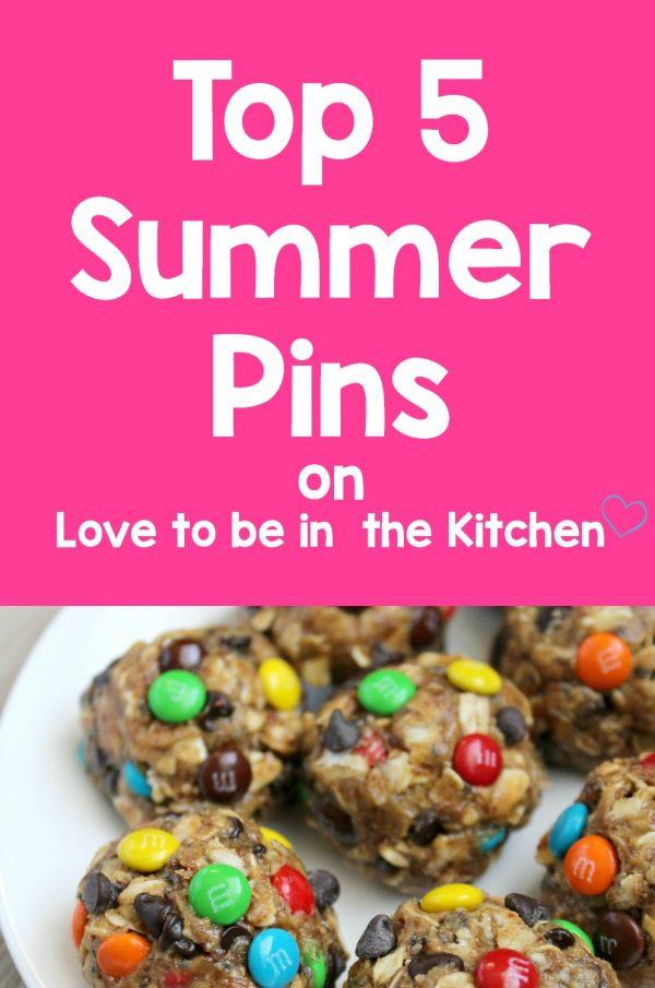 Top 5 Summer Pins