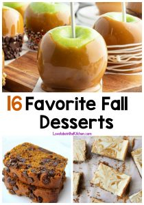 16 Favorite Fall Desserts
