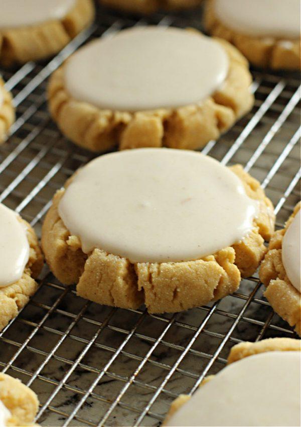 Pumpkin Swig Cookies