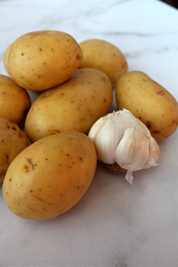 Yukon Gold Potatoes with Garlic