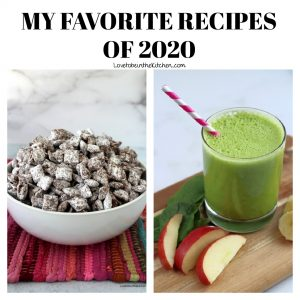 MY FAVORITE RECIPES OF 2020