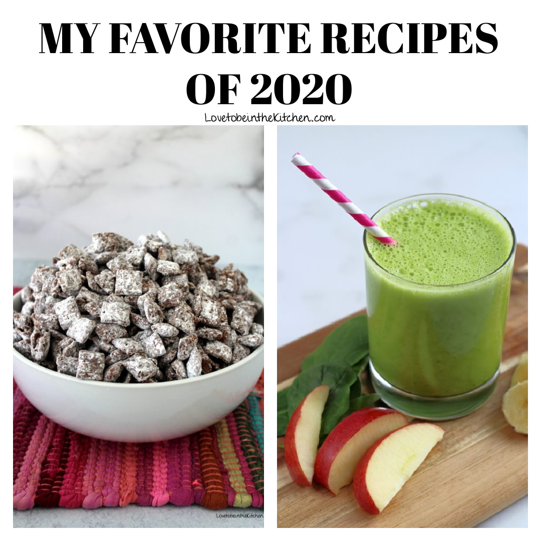 Favorite Recipes of 2020 Collage