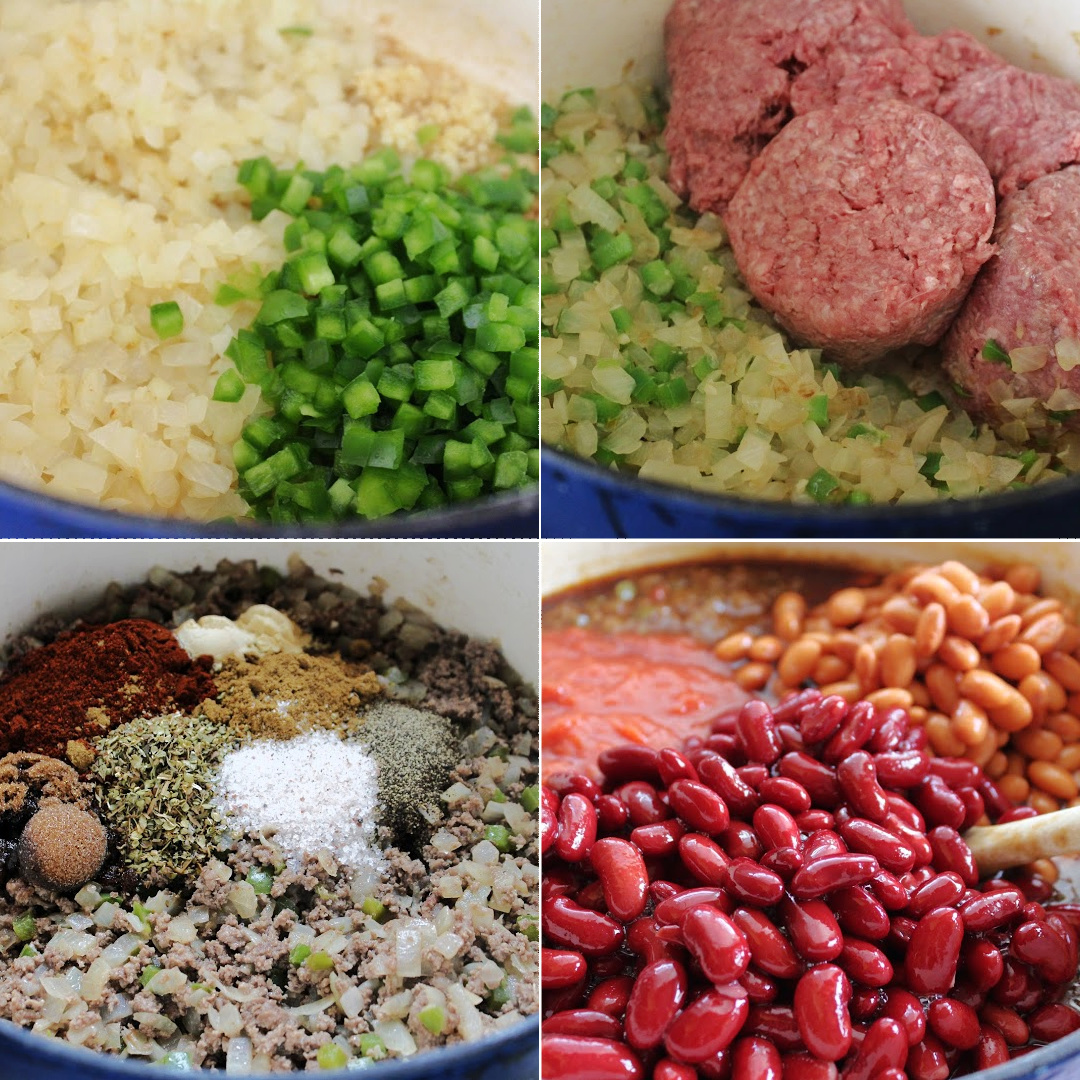 How to make chili collage
