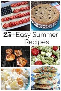 25+ Easy Summer Recipes